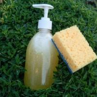 Органический гель для мытья посуды