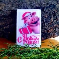Новогоднее мыло Свинка