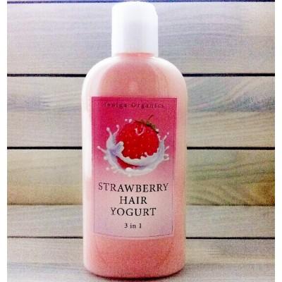 """Йогурт для волос """"Клубничный"""""""